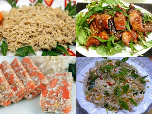Đặc sản nổi tiếng quê lúa Thái Bình
