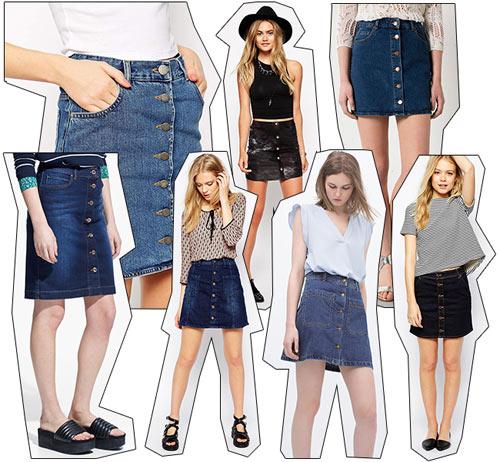 Chân váy jean kết hợp với áo gì? Top 8 gợi ý dành cho bạn
