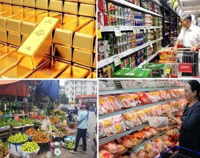 Tiêu dùng trong tuần: Giá vàng giảm, trong khi giá thực phẩm và trái cây tăng mạnh