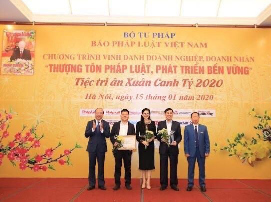 IPPG được vinh danh doanh nghiệp thượng tôn pháp luật