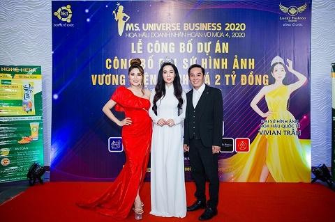 Gần 2,5 tỷ đồng cho người giành chiến thắng Hoa hậu Doanh nhân Hoàn vũ 2020