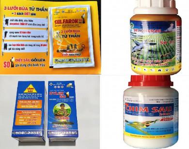 Lừa bán thuốc diệt côn trùng là thuốc bảo vệ thực vật cho nông dân