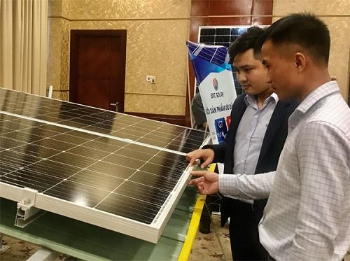 Phát triển điện mặt trời tại các doanh nghiệp Khu chế xuất - Khu công nghiệp