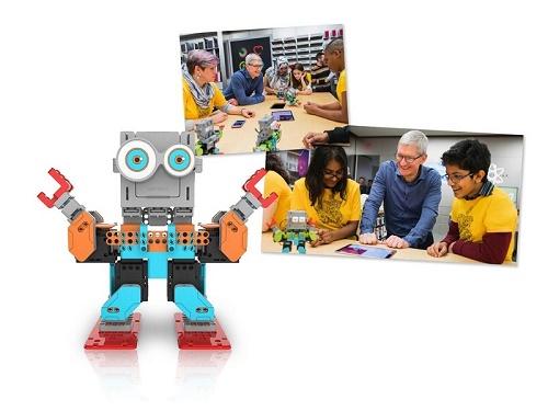 Robot giáo dục khai phá trí thông minh của trẻ