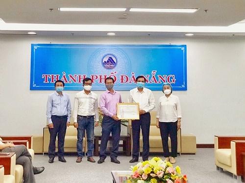 Tập đoàn PPC An Thịnh trao tặng máy móc, hóa chất trị giá 2 tỷ đồng cho TP.Đà Nẵng