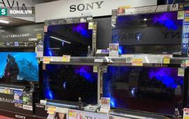 Rất hiếm khi giảm, tivi Sony 55 – 75 inch hạng sang nay bất ngờ xuống 50% giá