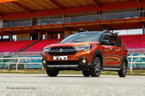 Suzuki XL7 phiên bản mới: Chiến binh thách thức mọi địa hình