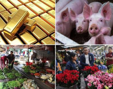 Tiêu dùng trong tuần: Giá vàng và thịt heo giảm mạnh; trong khi giá hoa tăng vọt trước ngày 20/10