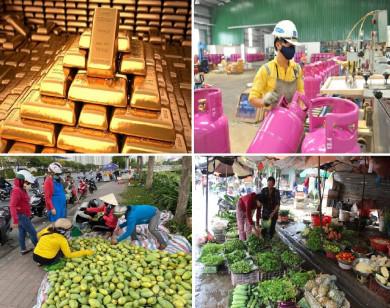 Tiêu dùng trong tuần: Giá vàng, gas, rau tăng mạnh; trong khi trái cây rớt giá thê thảm