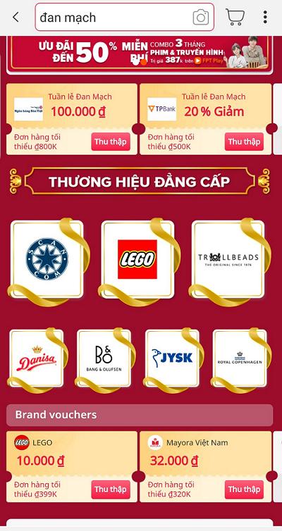 """7 thương hiệu nổi tiếng Đan Mạch """"đổ bộ"""" trên Lazada Việt Nam"""