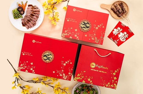 Độc đáo lựa thịt bò FujiFoods làm quà Giáng Sinh cao cấp
