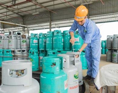 Giá gas tăng mạnh 27.500 đồng/bình 12kg ngày đầu năm 2021