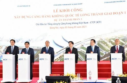 Chính thức khởi công sân bay quốc tế Long Thành