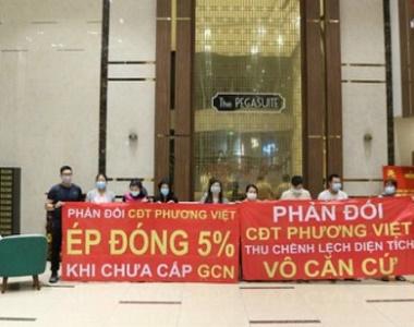 """Cư dân The Pegasuite """"cầu cứu"""" Sở Tài nguyên Môi trường TP Hồ Chí Minh?"""