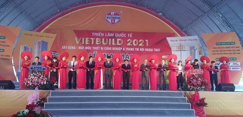 TP.HCM: Chính thức khai mạc Triển lãm Vietbuil 2021