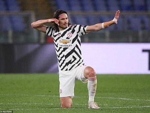 Người hùng Cavani tỏa sáng, Man United chật vật vào chung kết Europa League