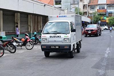 Kiếm tiền triệu mỗi ngày với xe tải nhẹ Suzuki, mua dễ dàng chỉ với 50 triệu