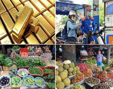Tiêu dùng trong tuần (từ 10-17/5/2021): Giá vàng, xăng dầu và trái cây đồng loạt tăng mạnh