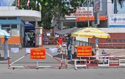 TP Hồ Chí Minh: Hai nhân viên làm việc tại Bệnh viện quận Tân Phú nghi mắc COVID-19