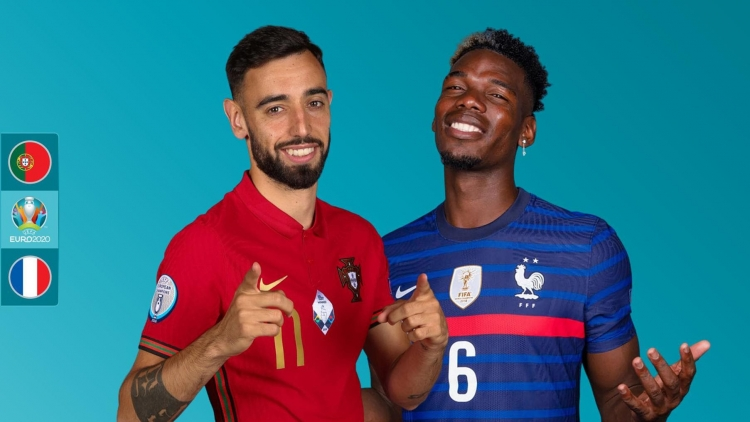 Lịch thi đấu bóng đá EURO 2021 hôm nay 23/6: Bồ Đào Nha đại chiến Pháp