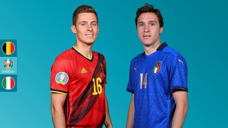 Lịch thi đấu EURO 2021 hôm nay 2/7: Chung kết sớm giữa Bỉ và Italia