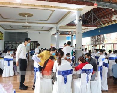 Công ty Bất động sản Rubi Land tổ chức sự kiện hơn 100 người giữa dịch Covid-19