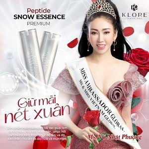 Hồi phục sau căn bệnh liệt nửa mặt, Hoa hậu Võ Nhật Phượng được mời làm đại sứ thương hiệu mỹ phẩm nổi tiếng Klore