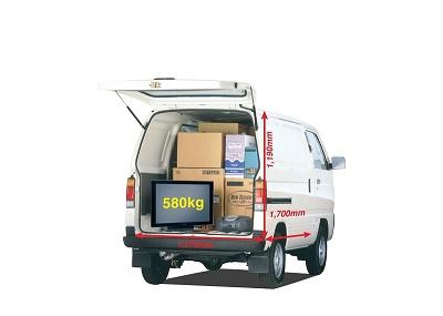Tải hàng nội đô nhanh chóng, khó xe tải nhẹ nào vượt mặt Suzuki Blind Van