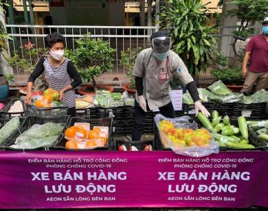 Người dân TP Hồ Chí Minh có thể mua thực phẩm tại 148 điểm bán lưu động