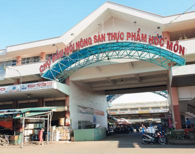 Chợ đầu mối Hóc Môn ở TP Hồ Chí Minh mở cửa trở lại sau gần một tháng dừng hoạt động
