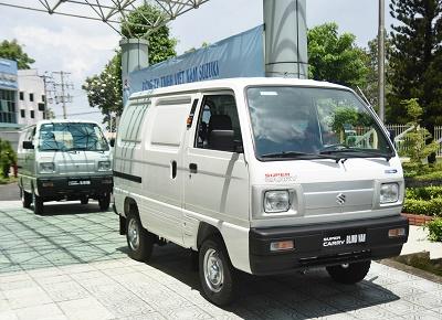 Xe tải nhẹ Suzuki Blind Van, giữ nhịp vận tải mùa giãn cách