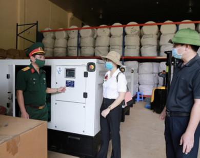 Xuất cấp trang thiết bị cho TP Hồ Chí Minh phòng chống dịch Covid-19