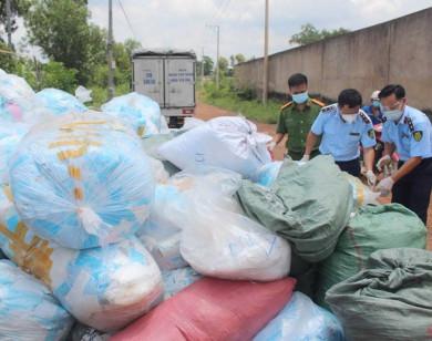 QLTT Đồng Nai bắt giữ một cơ sở tái chế khẩu trang y tế