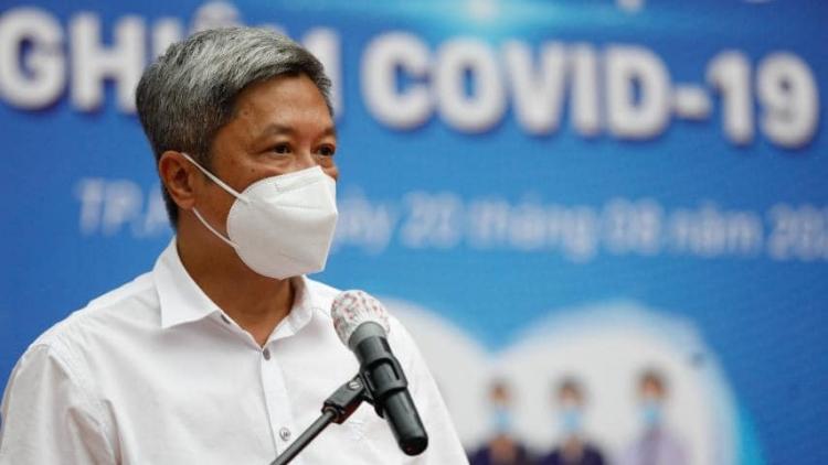 Thứ trưởng Nguyễn Trường Sơn kêu gọi F0 đã khỏi bệnh tham gia chống dịch
