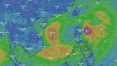 Bão số 5 đang đi vào miền Trung: Liệu có xảy ra bão chồng bão, lũ chồng lũ?