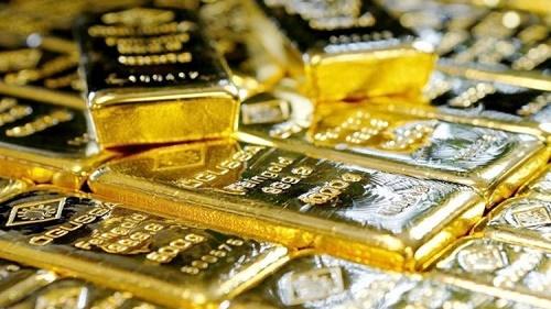 Giá vàng trong nước giảm ngược chiều với vàng thế giới
