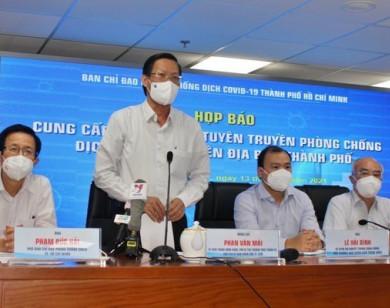 Chủ tịch UBND TP HCM: TP tiếp tục giãn cách xã hội theo Chỉ thị 16 đến cuối tháng 9