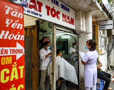 Hà Nội: Cửa hàng cắt tóc, gội đầu và nhiều dịch vụ khác được mở cửa trở lại từ 6 giờ ngày 21/9