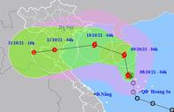 Bão số 7 giật cấp 11 hướng vào Nam đồng bằng Bắc Bộ - Bắc Trung Bộ