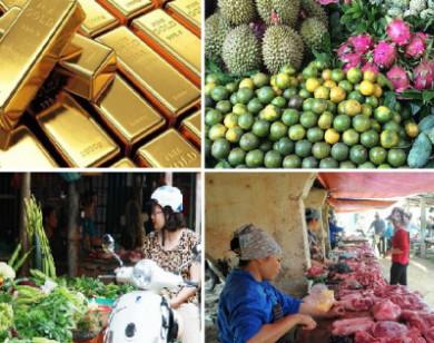 Tiêu dùng trong tuần (từ 4-10/10/2021): Giá vàng, thực phẩm và trái cây giảm mạnh