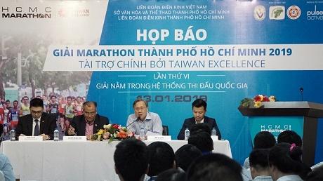Giải Marathon TP.HCM 2019 thu hút hơn 9000 vận động viên tranh tài