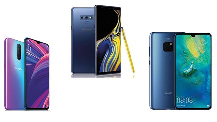 Tuyển tập smartphone chụp đẹp nên mua đầu năm mới 2019
