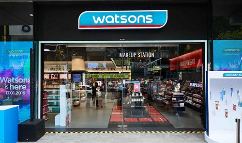 Watsons gây ấn tượng khi chào sân Việt Nam với loạt điểm nhấn khác biệt