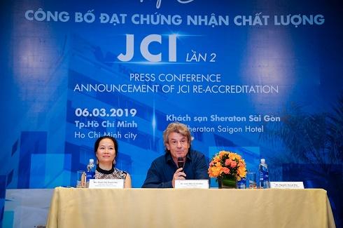 Bệnh viện FV lần 2 đạt chứng nhận chất lượng y tế quốc tế JCI với tiêu chí an toàn vượt trội