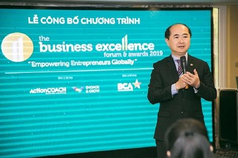 Business Coaching Asia lần đầu tổ chức The Business Excellence Forum & Awards 2019 tại Viêt Nam