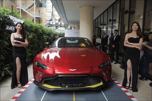 Thương hiệu xe sang Aston Martin chính thức có mặt tại Việt Nam