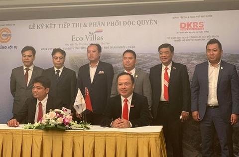 DKRS và Cửu Long ký kết phân phối dự án Eco Villas