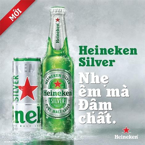 """Heineken Việt Nam ra mắt """"siêu phẩm"""" Heineken Silver – Nhẹ êm mà đậm chất"""