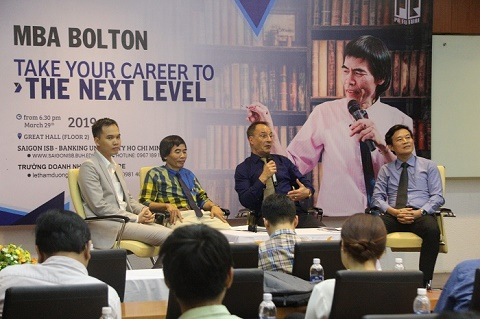 Học thạc sĩ Quản trị Kinh Doanh MBA Quốc tế tại Đại học Bolton