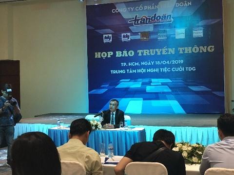 Trần Doãn Group họp báo công bố thương hiệu mới cũng như chiến lược kinh doanh trong năm 2019.